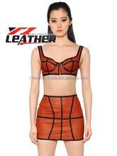 women fashion leather garments