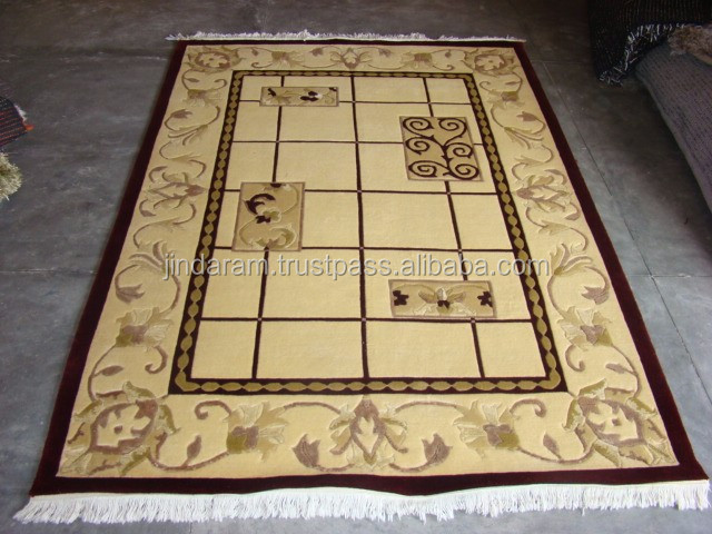 Traditional needle felt acrylic carpets.JPG