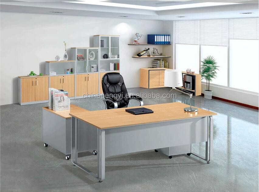 High Quality Cheap Small Office Furniture U Shaped Desk,simple Office Table  Design,small Office Table Design