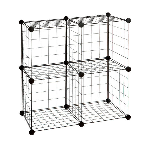... gsc4.jpg ...  sc 1 st  Alibaba & Grid Storage Cube - Buy Grid Wire Modular BoxStackable CubePlastic ...