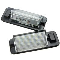 2Pcs 12V 18 LEDs Bulb License Number Plate Light Lamps For BMW 3 Series E36 1992-1998