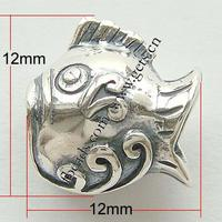 No Thailand Sterling Silver Beads Fish without Hole:Approx 5mm Sold By PC
