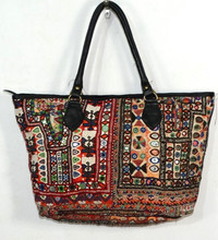 Banjara Bag Vintage Boho Gypsy Tote Banjara Bag Women's Banjara Leather Strap Handbag