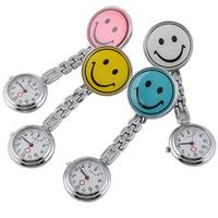 New Smile Face Nurse Fob Brooch Pendant Pocket Watch #3610