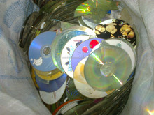 plastic PC CD SCRAP