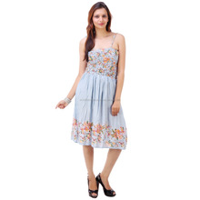2015 COLLECTION OF PRINTED LADIES CASUAL DRESSES FOR SUMMER