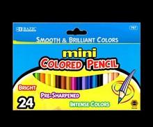BAZIC 24 Mini Color Pencil