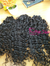 7a grade vietnamese double drawn curly weft virgin hair from 10 to 34 inches