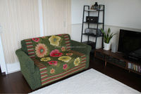 High quality and Premium bandung textile throw for household use ,sofa cover, rug mat also available