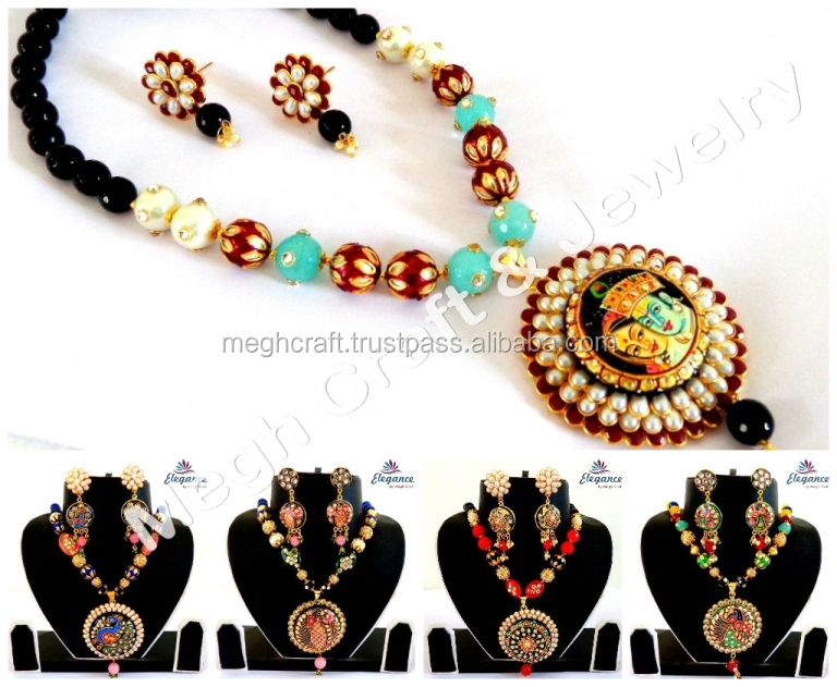 Indian Navratri Set Vintage Fashion Jewellery Tribal Bridal Costume