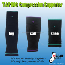 Japanese three types of knee support for resolution of foot problems