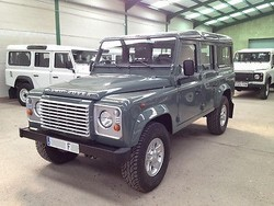 Used Land Rover Defender 110 Station Wagon - Left Hand Drive- Stock no: 12372