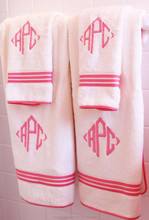 colorful baby bamboo bath towel fabric wholesale /high quality face towel