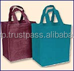 personalized jute shoppings for him