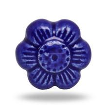 Ceramic Blue Flower.(morning glory)
