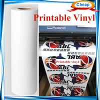 printable Vinyl rolls ,printing transfer film,eco solveint advertising print vinyl film flex