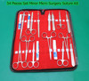 54 Pieces Set Minor Micro Surgery Suture Surgical Kit Instruments/ By Denix international