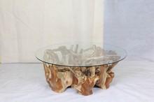 Characteristics natural BLORA root coffee table
