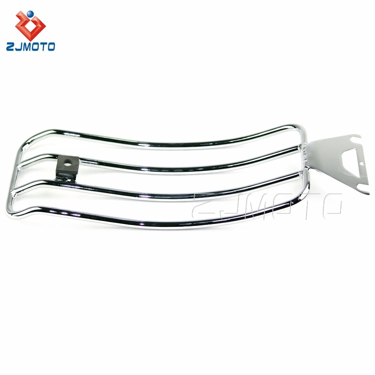 For HARLEY TOURING ROAD KING BAGGER High Quality ALLOY Motorcycle Luggage Rack Chrome Cargo Travel Rack (4).jpg