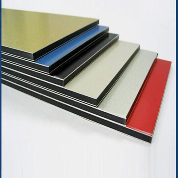 En plastique en aluminium panneau composite panneau en - Panneau composite aluminium ...