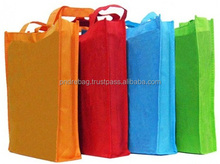 Promotional gift bag colorful pp non woven shopping bag high quality