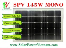145W Mono solar panel - Germany Solar Cell - SPV145M