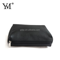 2014 NEW fashional hot sale dark red wristlet cosmetic bag