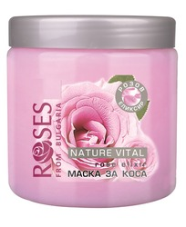 Nature of Roses Nature Vital Hair Mask with Rose Elixir 500ml
