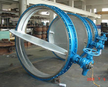 PNEUMATIC OPERATED WAFER TYPE BUTTERFLY VALVE