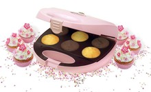 Bestron Sweet Dreams Cupcake Maker Pink -Clearance sale