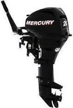 Free shipping for Used Mercury Mariner F 20 Ml Hp 4 Stroke Outboard Engine Motor Manual Start