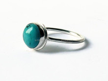 Arrival Fashion jewellery 2015 Natural Turquoise Silver Gemstone Ring, 925 Silver jewellery, Silver Jewellery