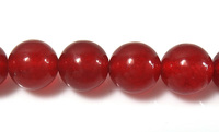 [color dyed] 10Strands/Lot 6mm red Natural Marble Beads