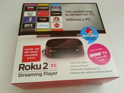 Express shipping for Roku 2 XS Digital HD Media Streamer BNIB ideal for JW broadcasting + HDMI CABLE