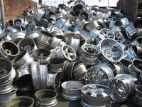 99% pure aluminum alloy wheel scrap