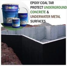 Waterproof Epoxy Coal Tar Paint protect Underground Concrete & Underwater Metal Surfaces JIS Standard JONA TAR