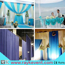 RK factory durable wholesale backdrop pipe and drape for wedding event