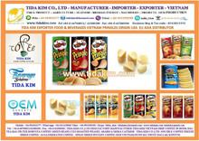 PRINGLES POTATOES -DISTRIBUTOR - OREO CHOCOLATE- ORANGE STRAWBERRY TIDA KIM - COOKIES CREAM FOOD BUICUIT VIETNAM ALL SORTED