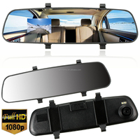 2015 Brand New 2.7'' 1080P HD LCD DVR Car Camera Dash Cam Video Recorder Rearview Mirror 5V 1A