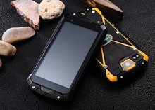very high quality android 4.4 smartphone IP68 rugged waterproof phone 3g gps wifi bt4.0 MTK6582 quad core