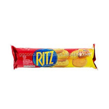 Ritz galleta del emparedado del queso crema 118gr / galletas venta al por mayor / galletas de la galleta