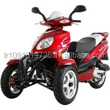 Hot sale Originally New Trike Gas Motor Scooters 150cc 3 Wheels Moped