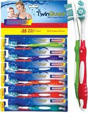 oral bee design Toothbrush Aquawhite