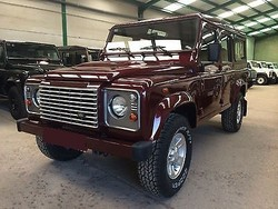 Used Land Rover Defender 110 Station Wagon - Left Hand Drive- Stock no: 12373