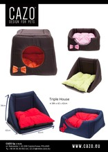 Pet House Private Lable Triple 3in1