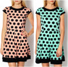 2015 Fashion Cocktail Dots elegant women casual summer Spot short dress 83482