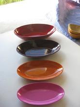 Multi- colore piatti di bambù e lastra in vendita, vietnam piatti