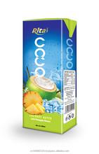 100% puro gusto ananas succo di cocco
