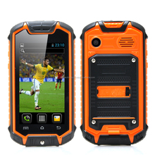 Water resistant smart phone - Orange