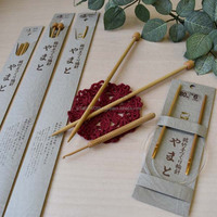 Various type of durable bamboo knitting needles names handicrafts tool
